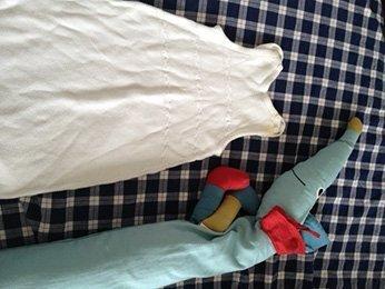 Foto1 - Wenn das Schwesterlein die Sachen vom Bruder auftragen muss, hilft nur Färben -