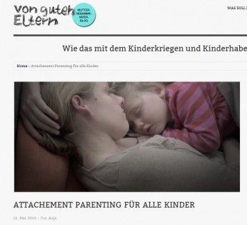 zockt - Attachment Parenting. Es geht weiter! -