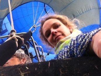 foto 8 1 - Lisa im Himmel: Eine Heißluftballon-Fahrt über die Heimat -