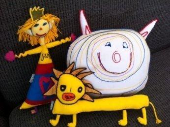 pupp5 - Produktvorstellung: Puppen aus Kinderzeichnungen -