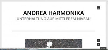 """aha - Interview mit der """"lustigsten Frau der Welt"""": Andrea Harmonika -"""