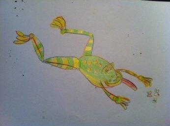 frosch - Produkte zum Überleben der Ferienzeit #1: Zeichenbuch -