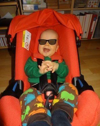doonatest2 346x435 - Testbericht unserer Leserin: Friederike hat den Doona Kindersitz ausprobiert! -