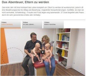 37grad - Leben und leben lassen. Das erste Jahr mit Baby im ZDF -