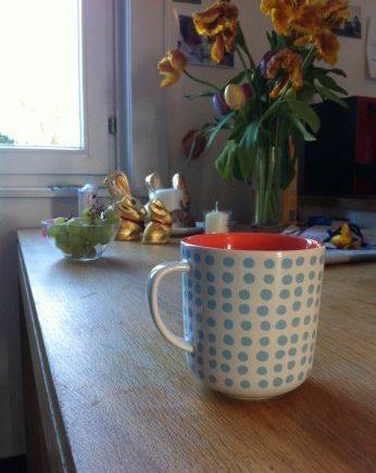 kaffee 0 346x435 - Hektik am Morgen - Viele Leute - und das schlechte Gewissen danach -