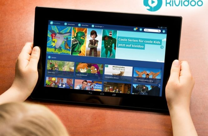 kind kividoo tablet2 0 665x435 - Gewinnt ein Ipad Mini und erfahrt alles über kividoo, die Internet-Plattform für kindgerechtes Fernsehen -