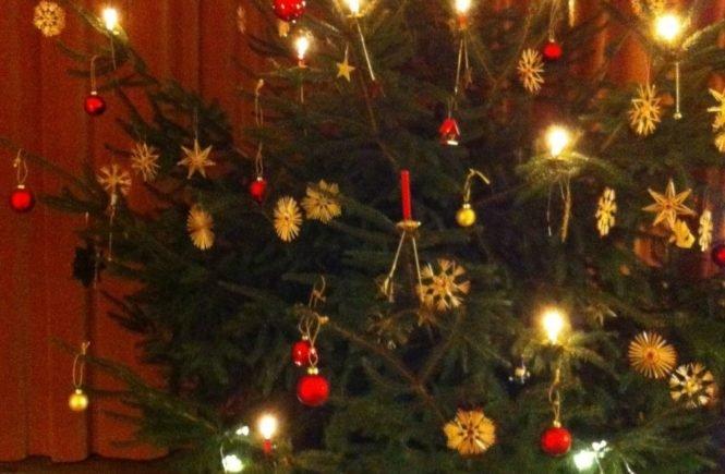 christbaum 665x435 - Mit Weihnachten ist es wie mit der Kindheit - man möchte den Moment festhalten -