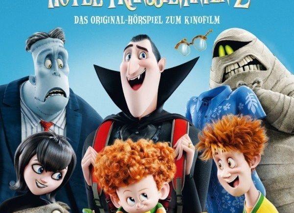 "hotel transsilvanien2 cd cover rgb 600x435 - Adventsverlosung 1: Drei CD´s von ""Hotel Transsilvanien 2"" -"
