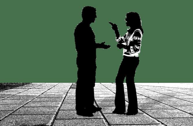 conversation 799448 960 720 665x435 - Leserfrage: Mama sagt so und Papa ganz anders - wie geht ihr damit um? -
