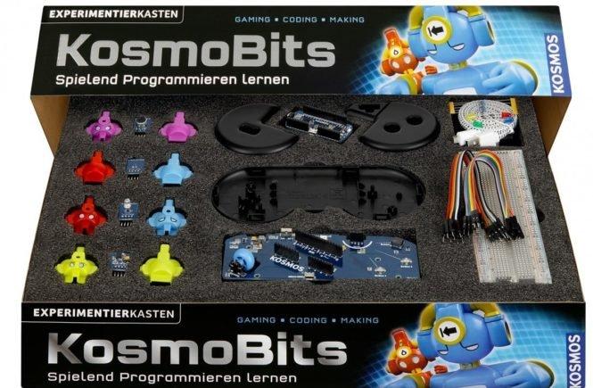 kosmobits box offen rgb 665x435 - So lernt Dein Kind spielend Programmieren - ein kluges Weihnachtsgeschenk, das Spaß macht -