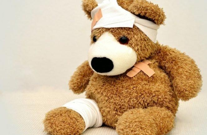 krank teddy 665x435 - Krank, krank, krank: Nicht die Kinder nerven, sondern die Unberechenbarkeit -