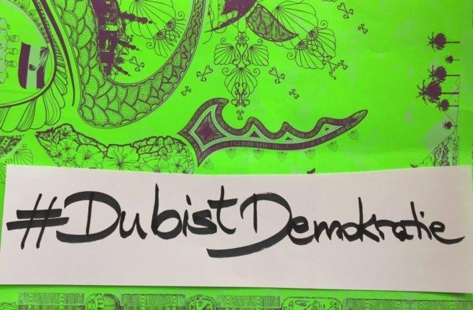 dubistdemokratie 665x435 - #DubistDemokratie: Warum Familie immer auch politisch ist - und wie wir unsere Kinder mitnehmen können -