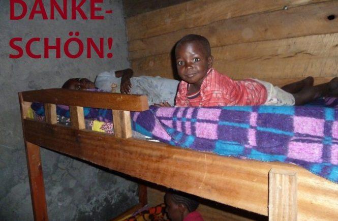kongodanke 665x435 - DANKE! Durch euer Engagement kann etlichen Kindern im Kongo geholfen werden -