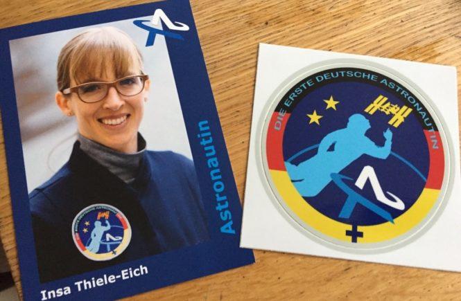 thiele eich autogramm 0 665x435 - Kinder-Interview: Schwebende Pizza? Leo (9) interviewt die Astronautin Insa Thiele-Eich -
