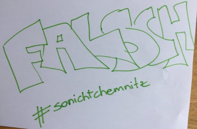 so nicht chemnitz 665x435 - Rassismus raus: Es ist falsch… was gerade in Chemnitz passiert -