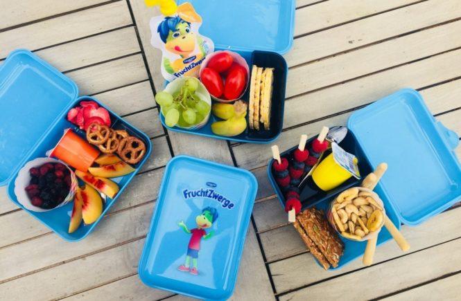 fruchtzwergebrotbox3 665x435 - Ausgewogene Nachmittags-Snacks für Kinder! Drei Ideen – in Kooperation mit FruchtZwerge -