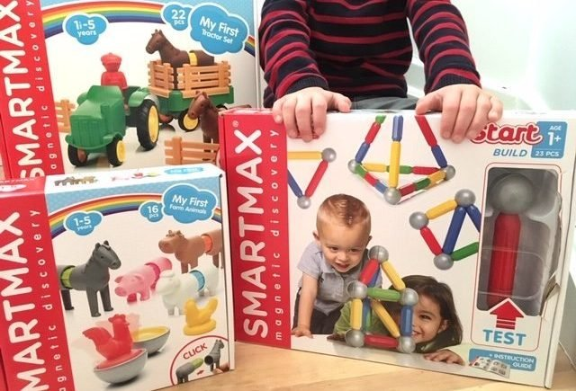 max1 0 640x435 - Kreatives Bauen und Spielen: Gewinnt die mega tollen SmartMax-Produke -