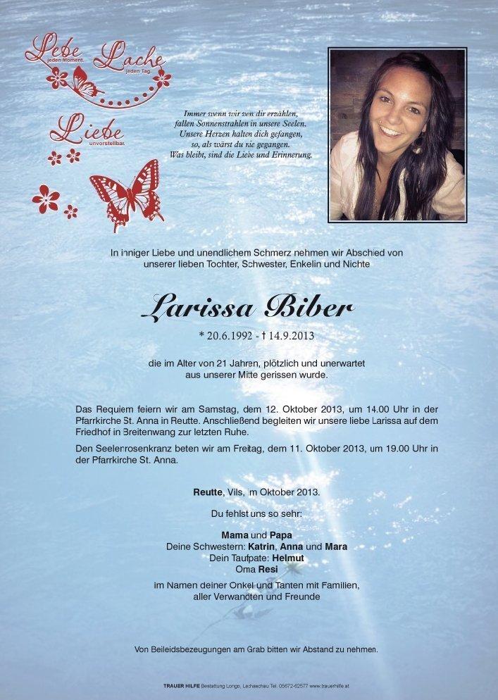 biber larissa parte - Ein Buch wie eine Liebeserklärung ans Leben: Katy schreibt über den Mord an ihrer Schwester - und wie sie lernte, mit der Trauer zu leben - In ihrem Buch nimmt uns Katrin Biber mit in die Achterbahn der Gefühle nach dem Mord an ihrer Schwester. Und zeigt Wege raus aus der Trauer.