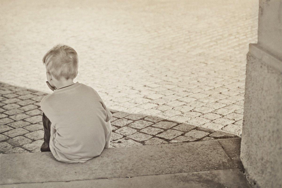 Wie kann ich mein Kind auffangen, wenn der Vater sich von