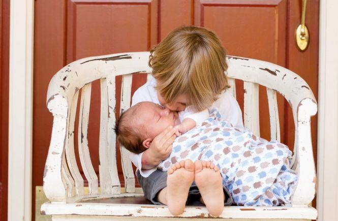 brothers 457234 1280 665x435 - Interview zum Thema Hausgeburt: Wenn Kleinkinder bei der Geburt des Geschwisterchens dabei sind -