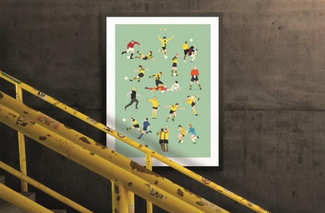 webshop bvb header ohnelogos 665x435 - HANDS OF GOD- Perfektes Geschenk für Fußballverrückte! Design-Plakate der emotionalsten Fußballmomente eures Vereins -