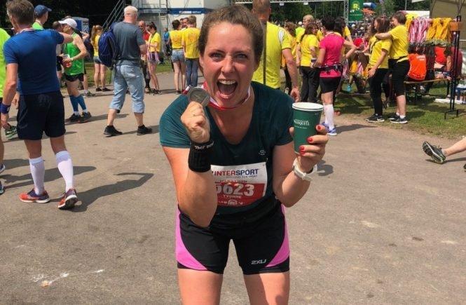 yvonne fotor fotor 665x435 - Mama läuft Marathon: Wie Dreifachmutter Yvonne es schafft, ihren Schweinehund zu überwinden -