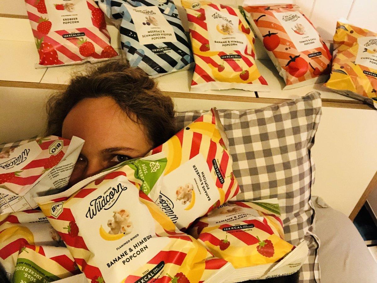 popcorn1 - Gesund snacken mit Wildcorn: Wo ich mir als Mama meine Rückzugsräume nehme -