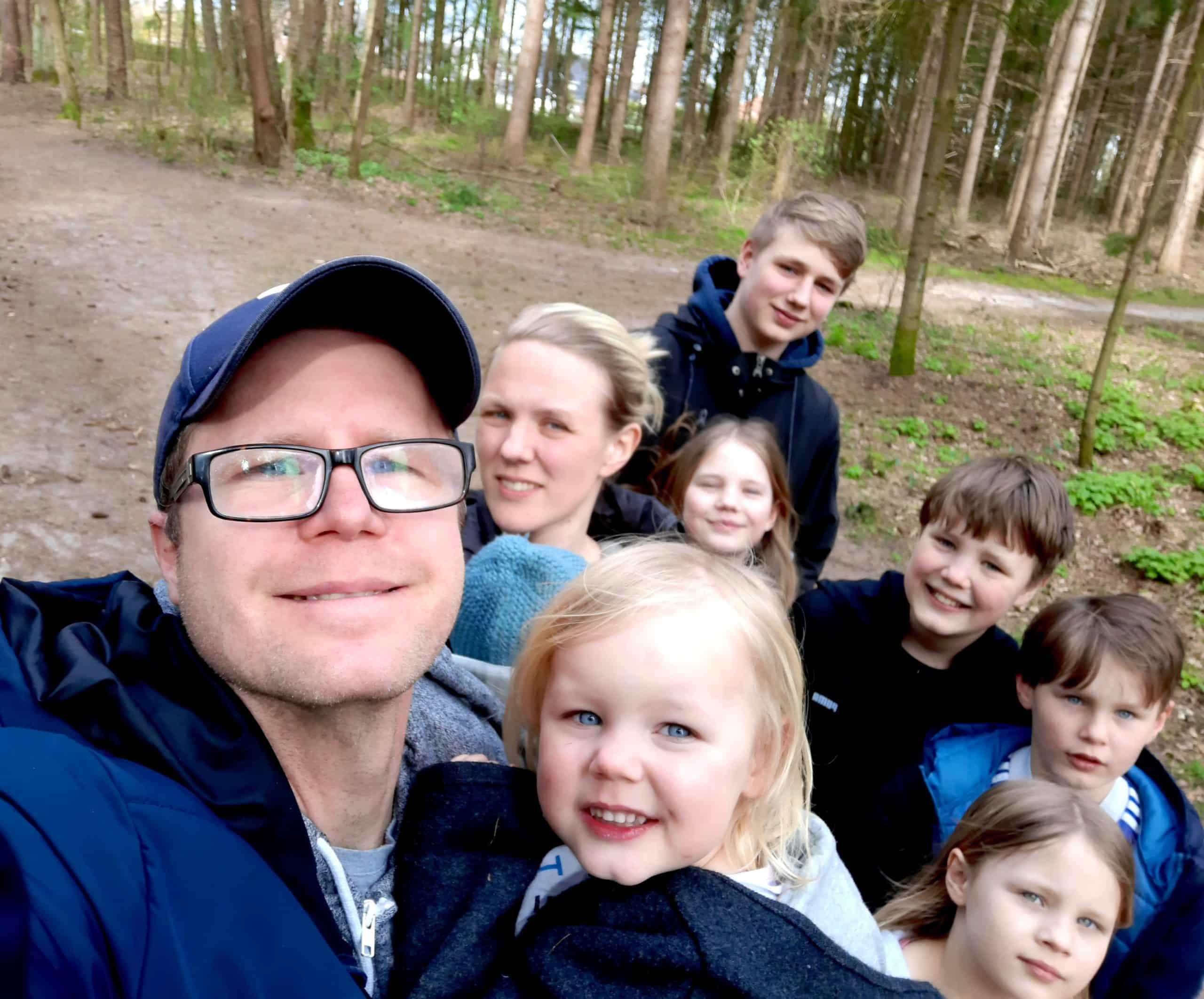Großfamilie: Mit sieben Kinder durch die Quarantäne