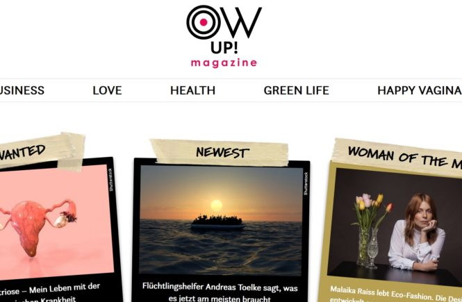 Online-Magazin Ow up!