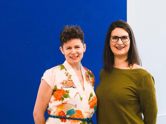 Tina Molin und Susanne Schlösser