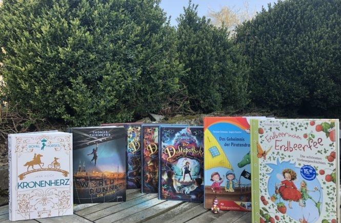 BücherAlle 665x435 - Super Bücher für Kinder mit 3, 6, 9, 11 und 13 Jahren! - Hier kommen die besten Bücher von Arena für Kinder mit 3, 6, 9, 11 und 13 Jahren, die ihr lokal bestellen könnt, um nicht nur zu lesen, sondern auch um die Buchhandlungen zu retten.