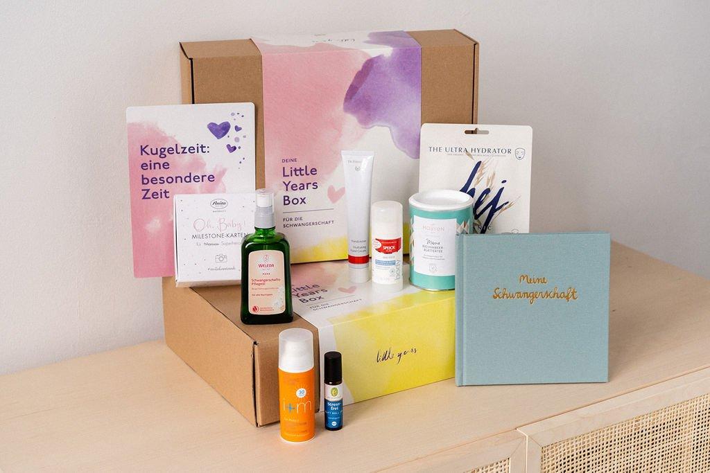Wir verlosen hier wunderschöne Geschenkboxen für Schwangere und Neu-Mamis. Mit tollen Produkten und ganz viel Liebe.